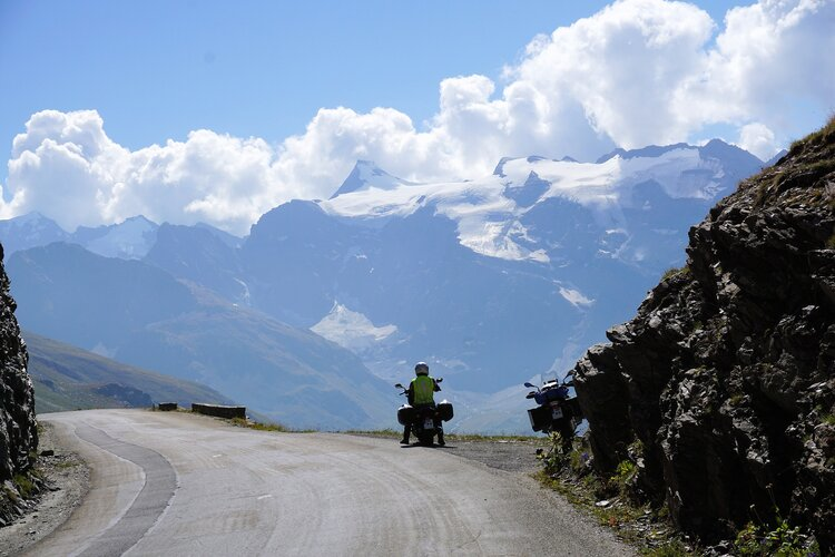 motorcycle touring in mountains - motorcycle touring for beginners