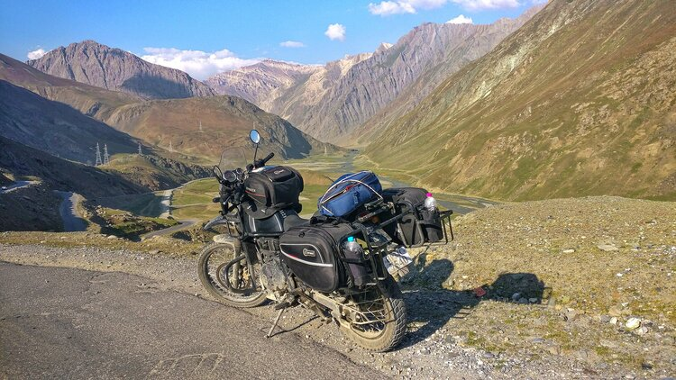 off-road motorcycle soft pannier