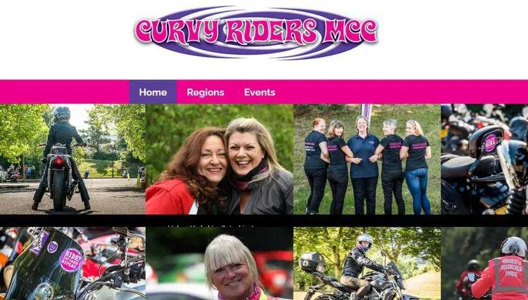 curvy rider motorcycle club