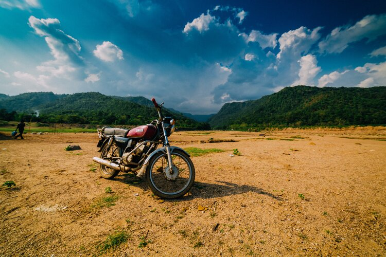 motorcycle-camping-mountains