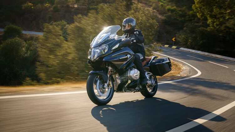bmw r 1250 rt - most comfortable touring motorcycles