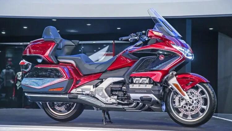 honda goldwing - most comfortable touring motorcycles