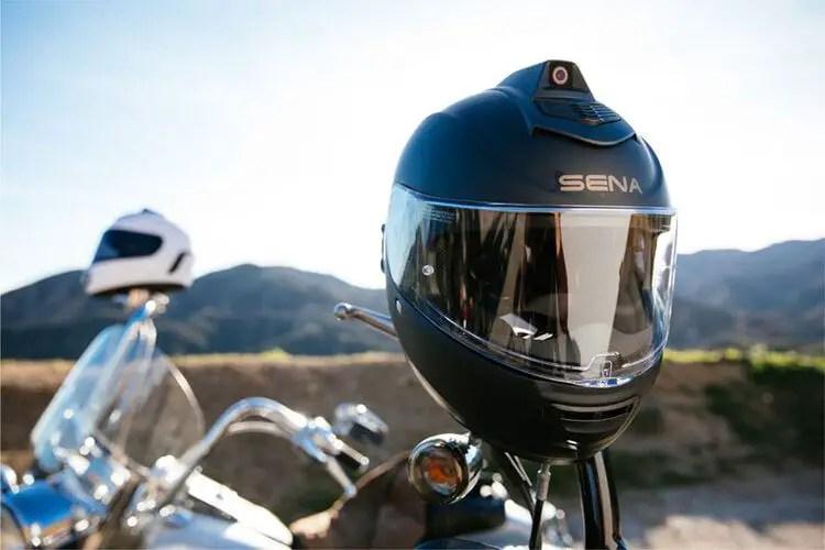 the sena momentum inc pro smart motorcycle helmet