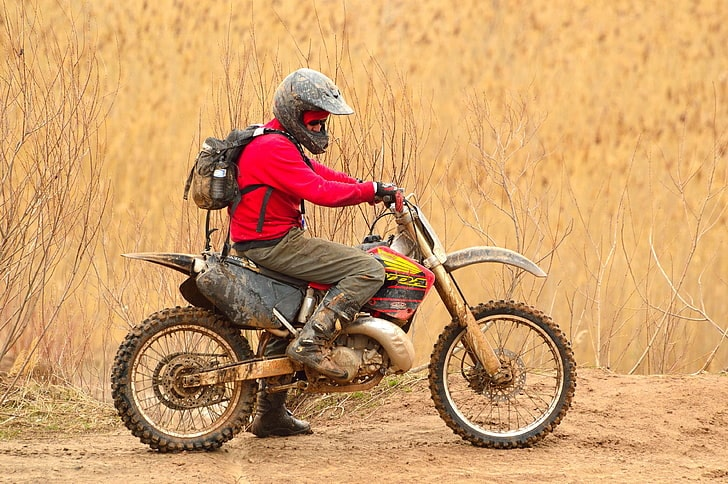 dirt bike offroad - adventure motorcycling