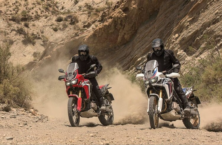 bikers wearing textile jackets - the right gear for motorcycle touring comfort