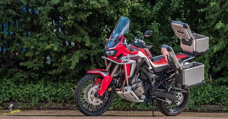 2021 africa twin vs touring on a sports bike