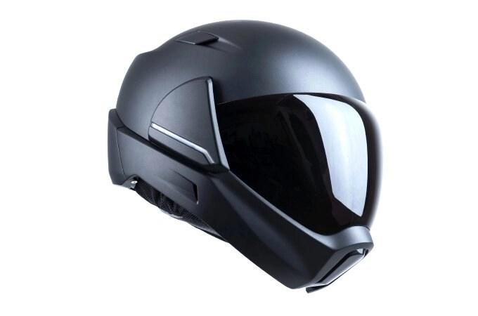 helmet panel swipe