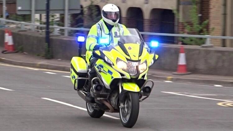 uk police motorcyclist