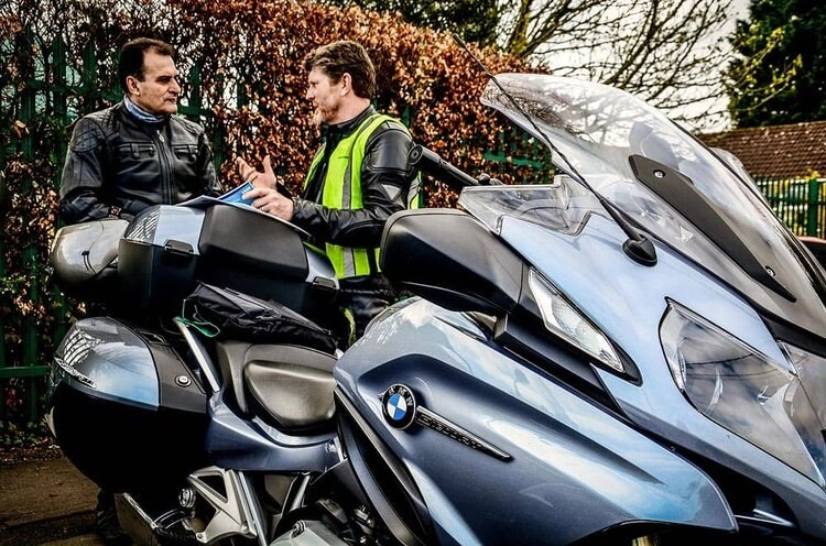 advanced motorcycle training debrief