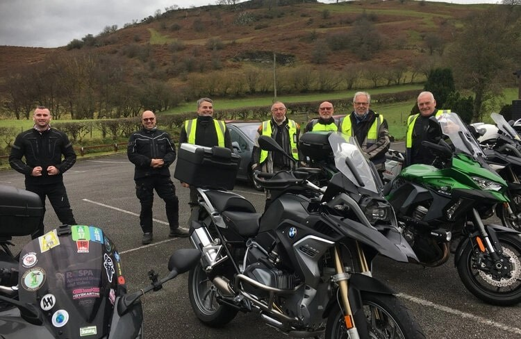 continued development through advanced motorcycle training