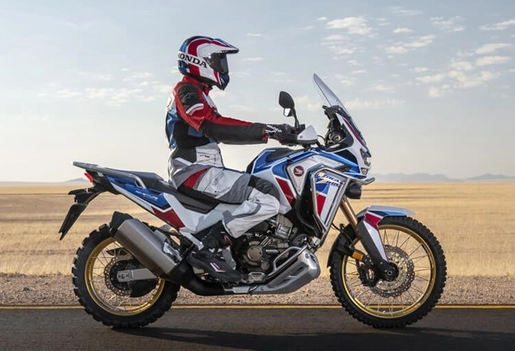 honda africa twin road and sand