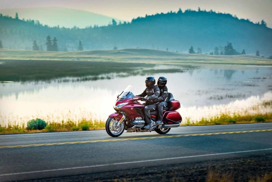 honda goldwing - touring on a sports bike