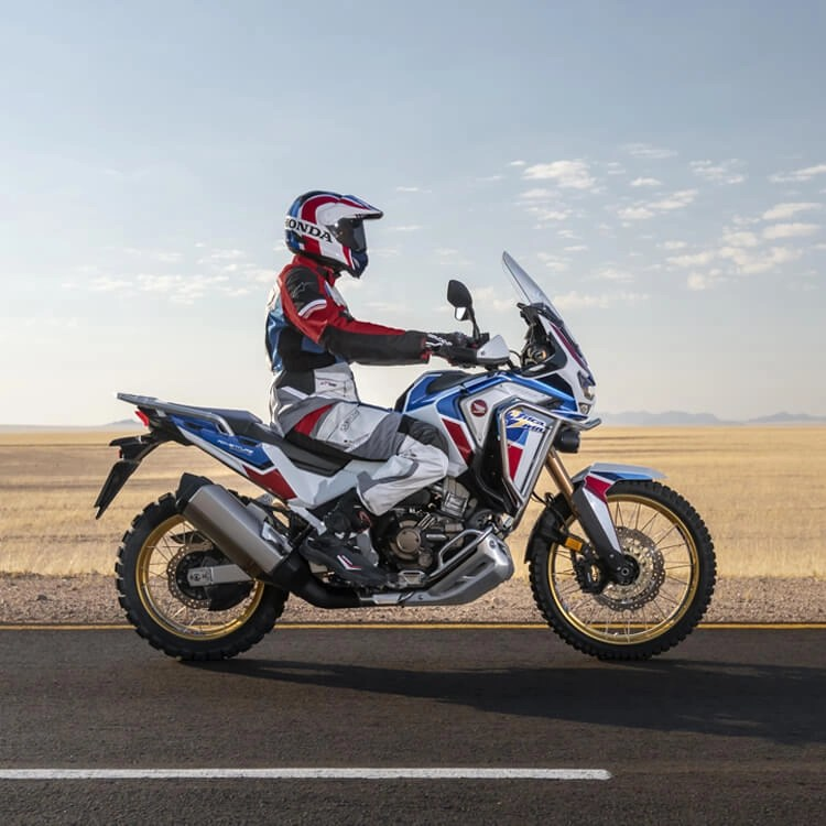honda africa twin - touring motorcycles for short riders