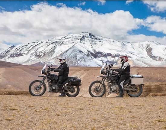 royal enfield himalayan - lightest touring motorcycles