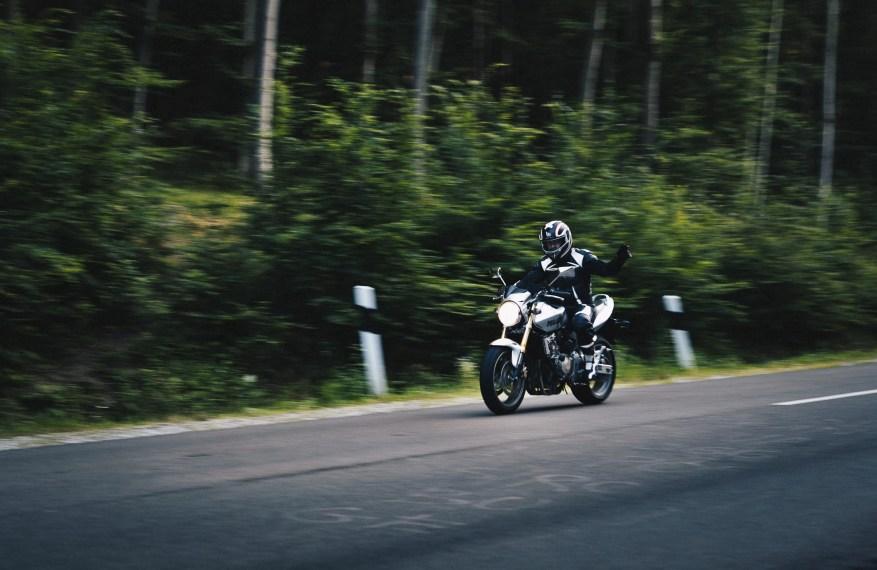 biker code hand signals - ducati