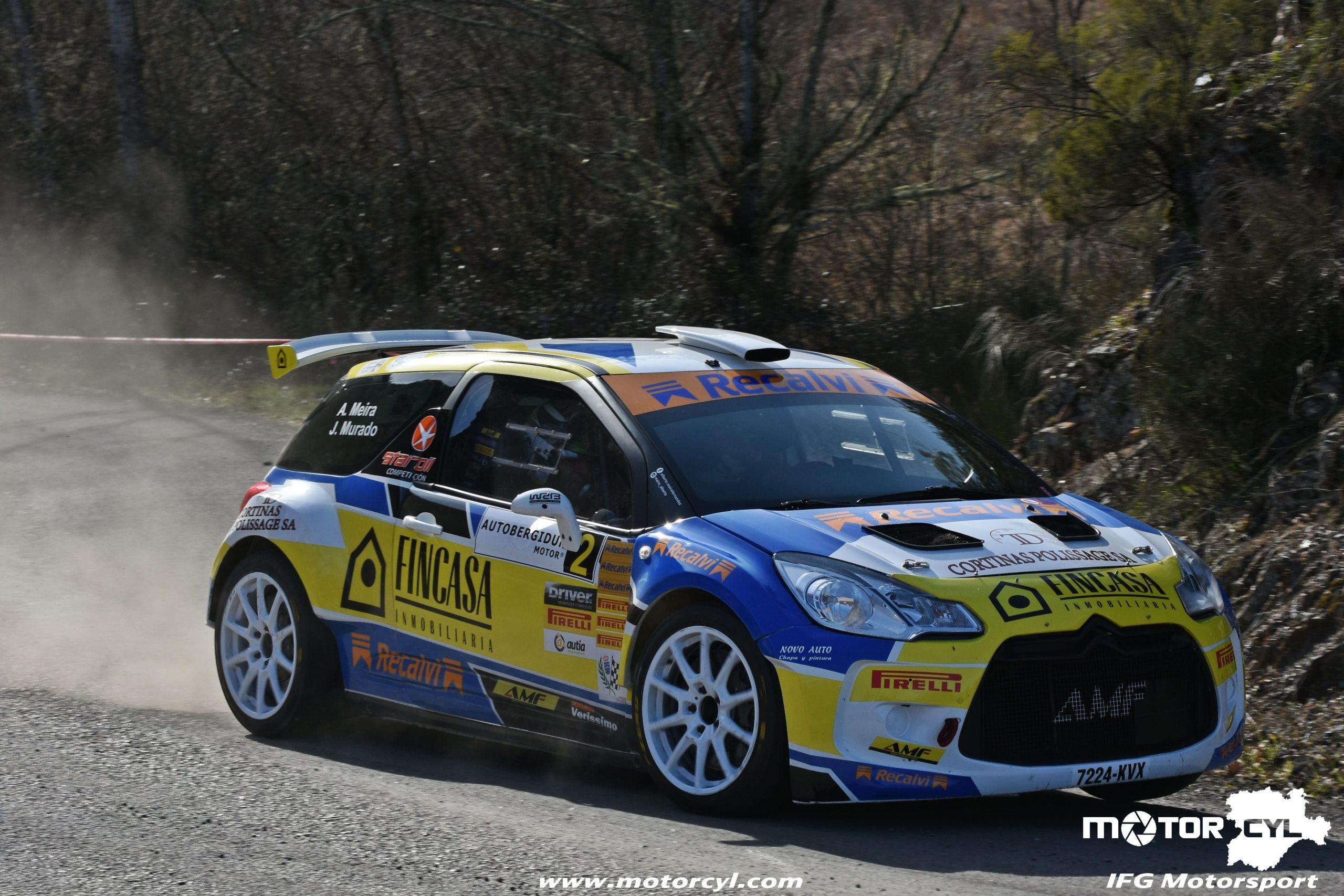 Alberto Meira calienta motores en León y se apunta el Rallysprint de La Mencía