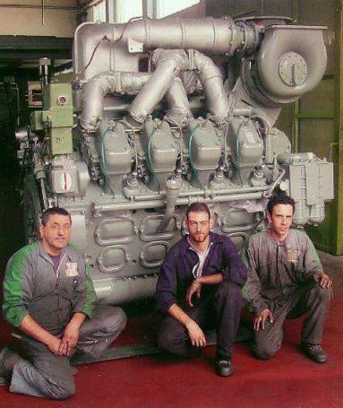 Motore grande