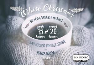white christmas market