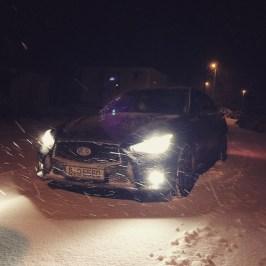 infiniti q50 snow schnee
