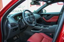 Jaguar F-Pace Leder Interieur