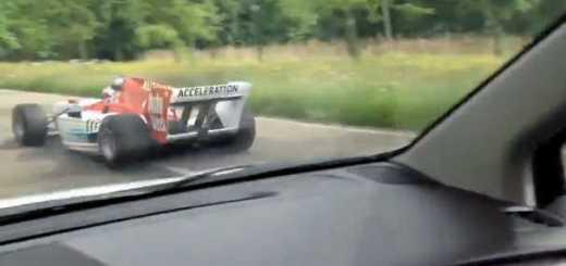 surpreendidos na estrada por carro formula 1