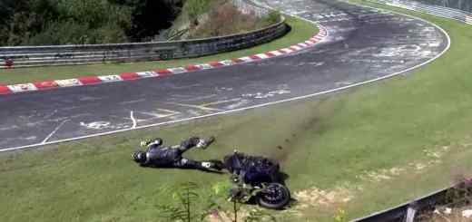 bike-crash-Nürburgring
