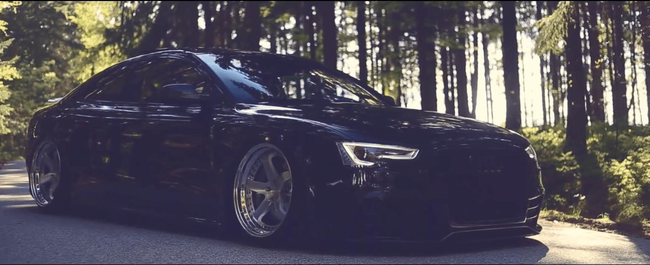 Audi RS5 Bagged