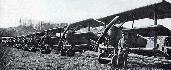 Fokker DR1 b-n