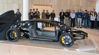 Aventador Rolling Chassis at EPO