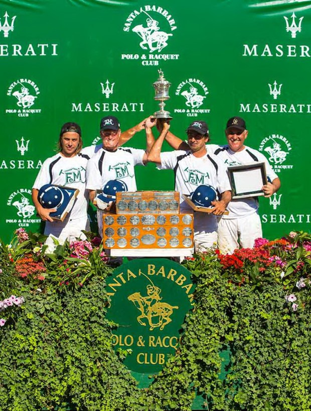 Farmers and Merchants Bank polo team, winners Silver Cup