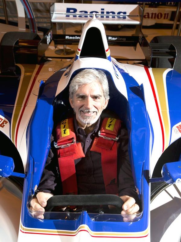 03_Damon Hill al volante della Williams FW18 del 1998 - Autosport
