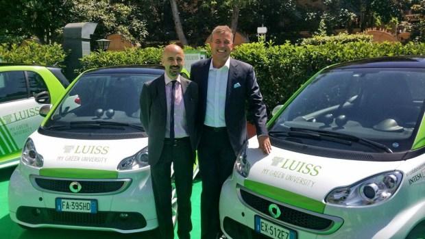 Giovanni Lo Storto, Direttore Generale della Libera Università Internazionale degli Studi Sociali «Guido Carli» e Roland Schell, Presidente di Mercedes-Benz Italia