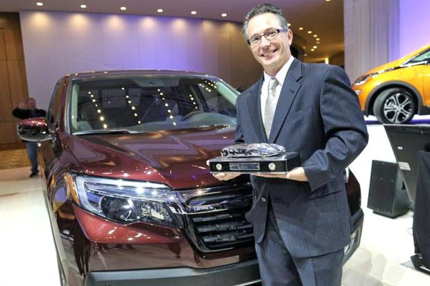 John Loftus, Chief engineer Honda Ridgeline