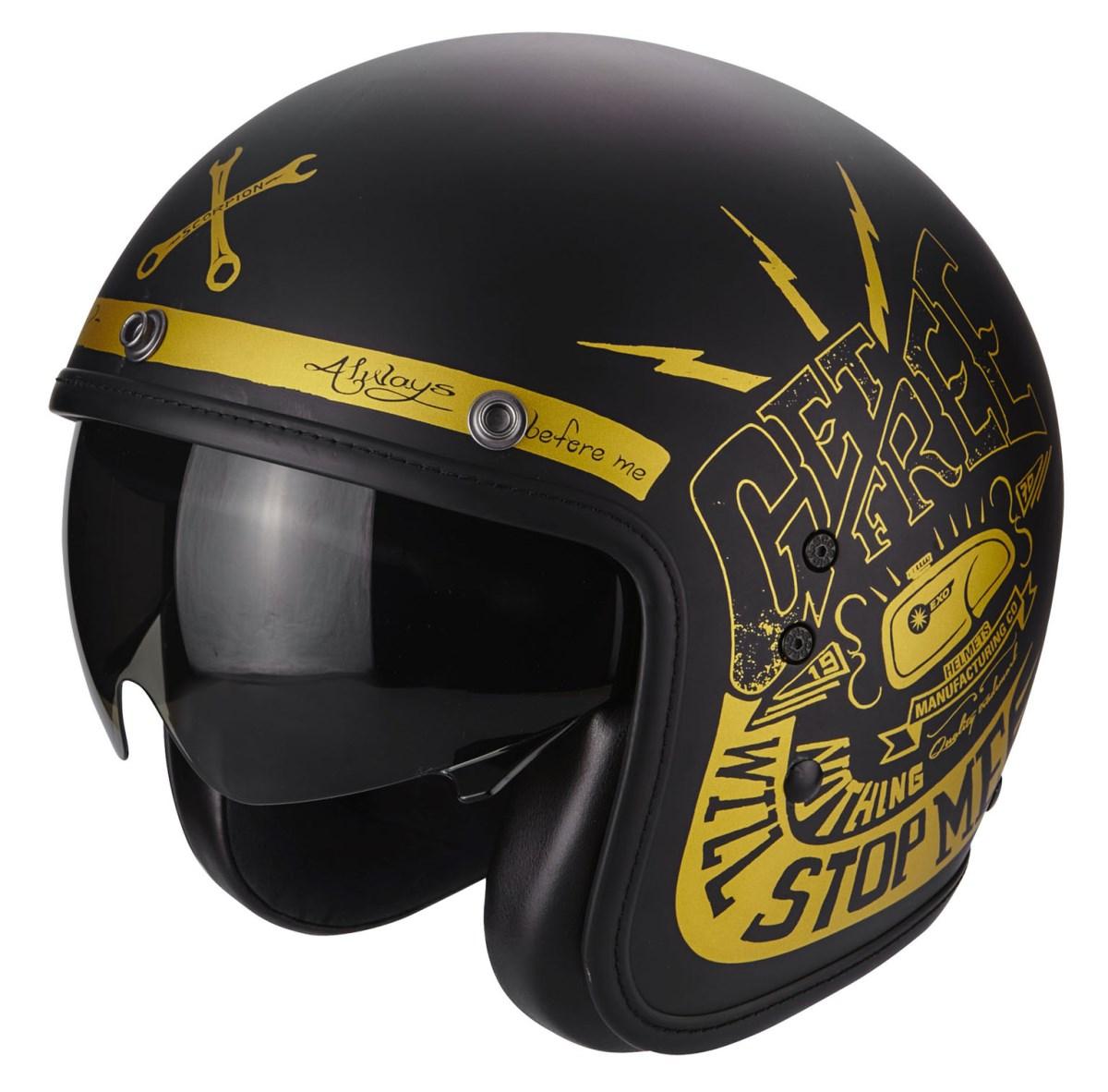 Motori360_SCORPION - BELFAST FENDER black gold