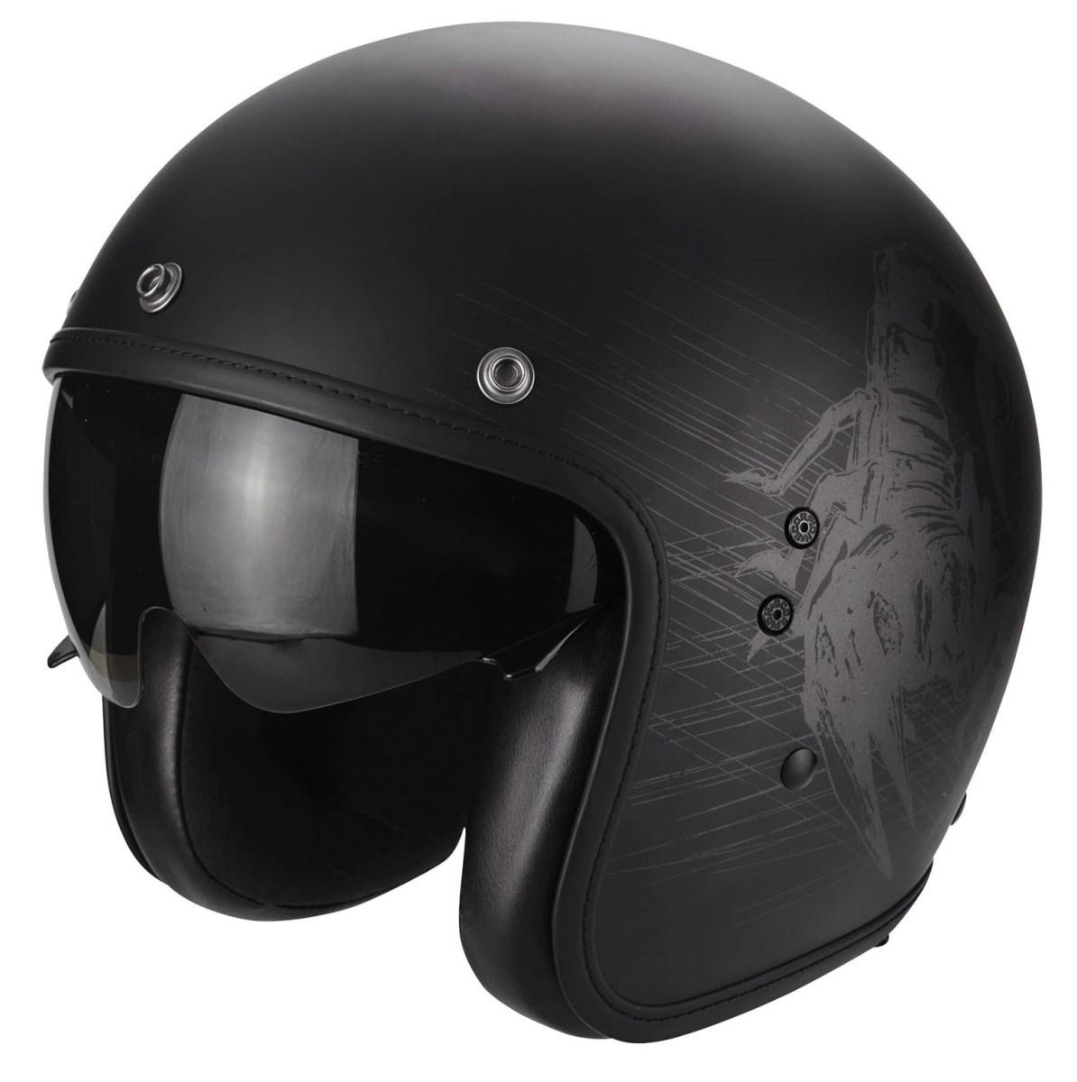 Motori360_SCORPION - BELFAST STING matt black