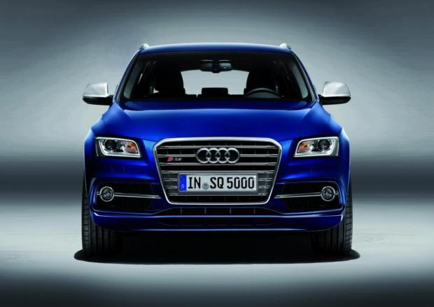 SQ5 frontale