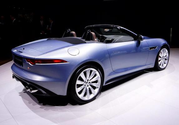 Jaguar F-Type Geneva 2013 Geneva 2013