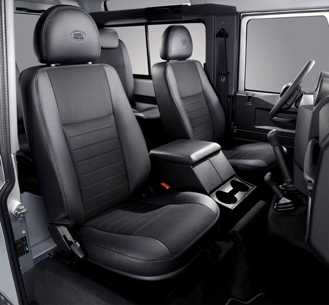 Land Rover Defender X-Tech Limited Edition Ebony Interior