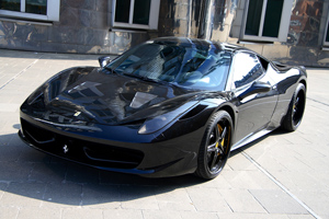 Anderson Germany Ferrari 458 Italia Carbon Black Edition