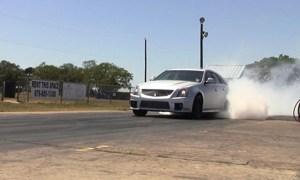 Hennessey Performance V650 Wagon Burning Rubber