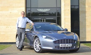 Aston Martin CEO shows his support for the Tsunami victims in Japan