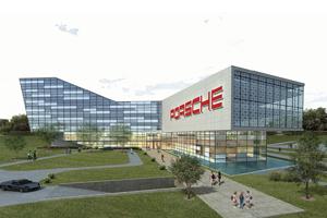 New Porsche United States Headquarters in Atlanta