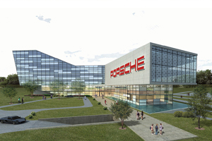 New Porsche United States Headquarters in Atlanta