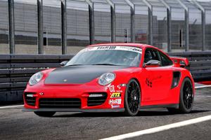 Wimmer Porsche 911 GT2 RS at Hockenheimring