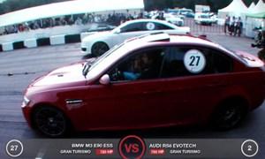 EVOTech Audi RS6 vs ESS BMW M3 Video