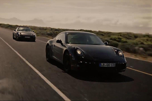 The next-generation Porsche 991 goes to South Africa for Testing