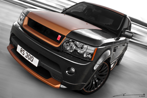 2012 Project Kahn Range Rover Vesuvius Edition Sport 300