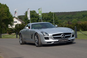 McChip-DKR and Kubatech SLS AMG Tuning