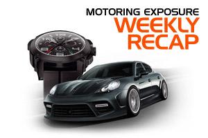 MotoringExposure Weekly Recap 10-1