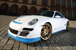 The Cars and Art 997 Porsche 911 C4S is all about Style
